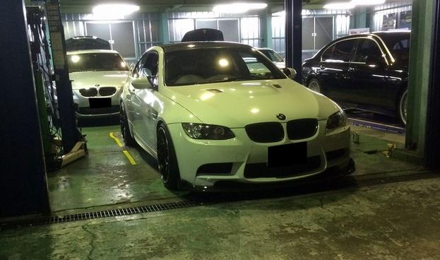 BMW M3 E92 トラブル